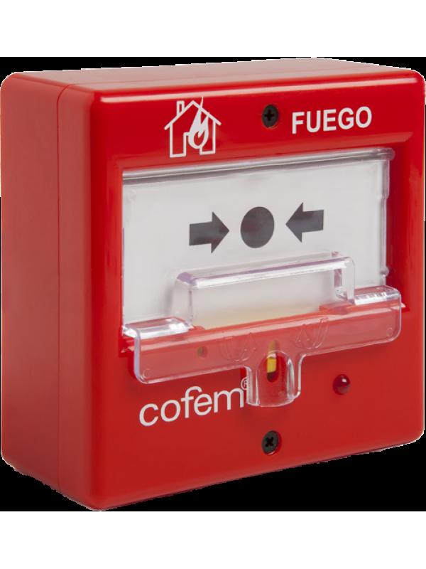 Cofem Konvansiyonel Yangın İhbar Butonu PUC-AR