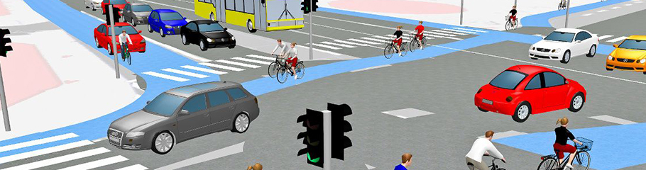 ptv vissim - traffic simulation software